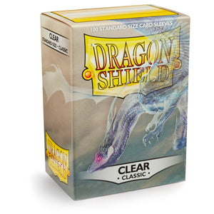 Dragon Shield Classic Clear - 100 Standard Size Sleeves