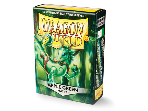 Dragon Shield Matte Apple Green - 60 Standard Size Sleeves