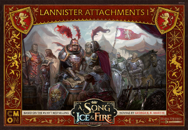 A Song of Ice and Fire: Lannister Attachments 1