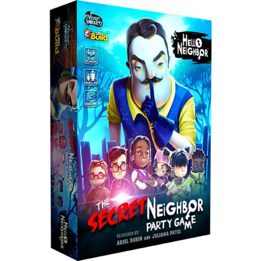 Hello Neighbor The Secret Neighbor Party Game
