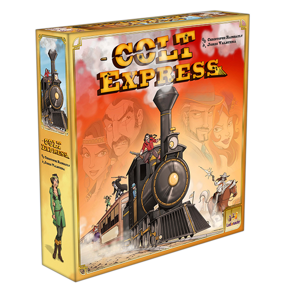 Colt Express-Board Games-Athena Games Ltd
