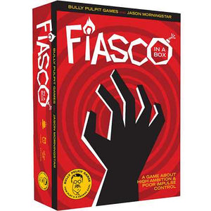 Fiasco RPG 2nd Edition In A Box