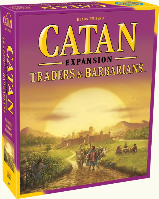 Catan: Traders & Barbarians Expansion-Catan Studios-Athena Games Ltd