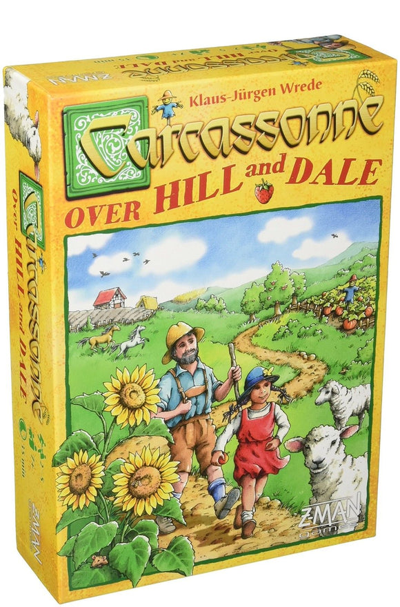 Carcassonne: Over Hill & Dale-Board Games-Athena Games Ltd