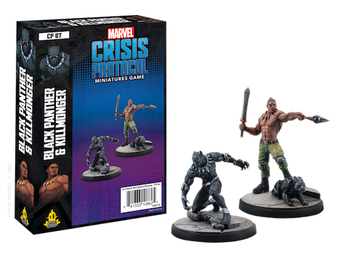 Black Panther and Killmonger - Marvel Crisis Protocol