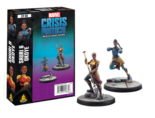 Marvel Crisis Protocol Shuri and Okoye