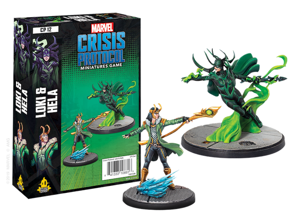 Marvel Crisis Protocol Loki and Hela