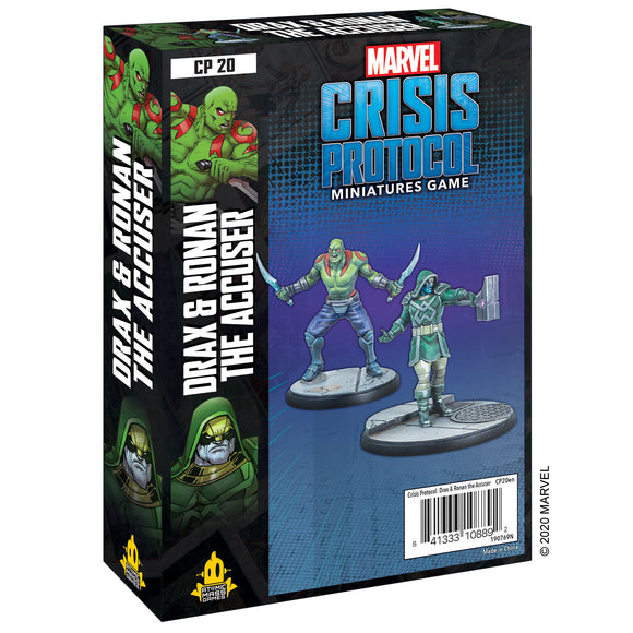 Marvel Crisis Protocol Drax and Ronan the Accuser Box
