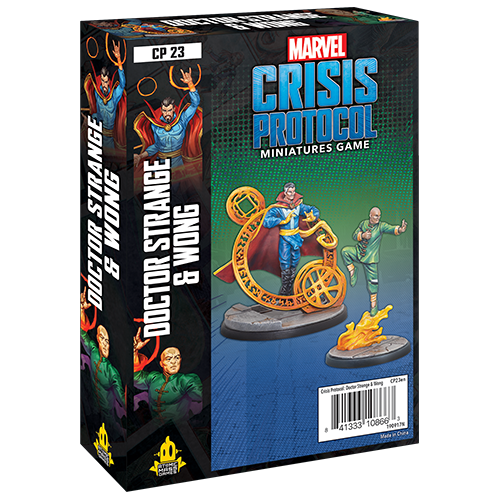 Marvel Crisis Protocol Dr. Strange and Wong
