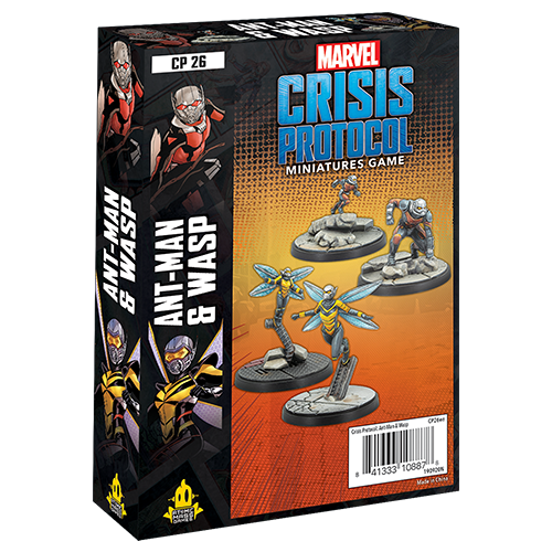 Marvel Crisis Protocol Ant-Man and Wasp