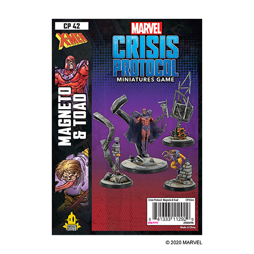 Marvel Crisis Protocol Mageneto and Toad