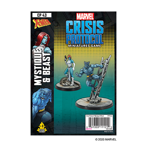 Marvel Crisis Protocol Mystique and Beast