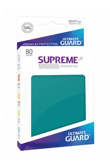 Ultimate Guard Supreme UX Sleeves Standard Size Petrol (80)