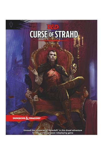D&D Curse of Strahd-Wizards Of The Coast-Athena Games Ltd