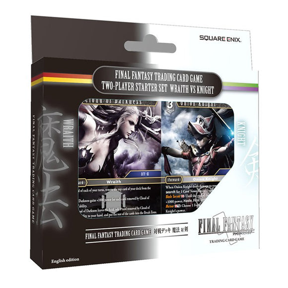 Final Fantasy 2-Player Starter Set Wraith vs Knight - Final Fantasy TCG