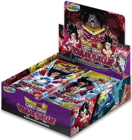 Dragon Ball Super B11 Unison Warrior 2 - Vermilion Bloodline Booster Box