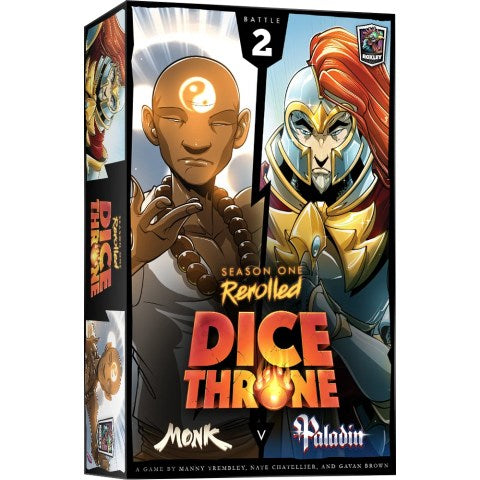 Dice Throne Season One ReRolled 2: Monk vs. Paladin