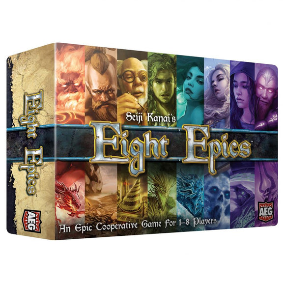 Eight Epics Board Game