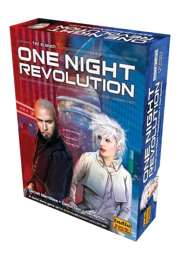 One Night Revolution-Board Games-Athena Games Ltd