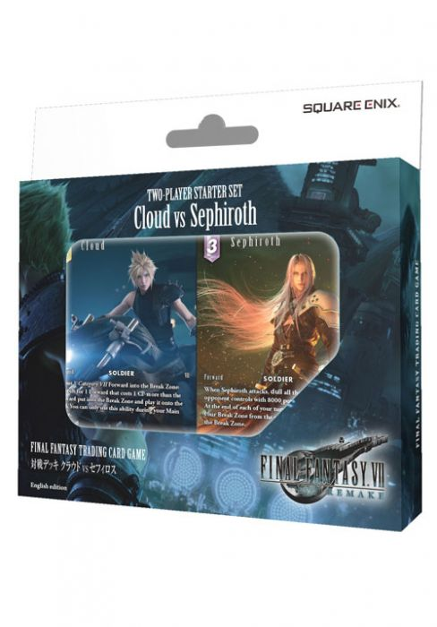 Final Fantasy VII Remake 2-Player Starter Set Cloud vs Sephiroth