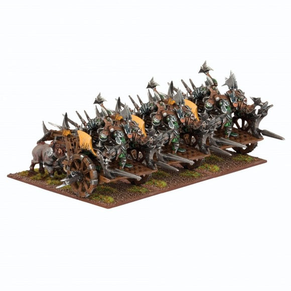 Orc Chariot Regiment - Kings of War