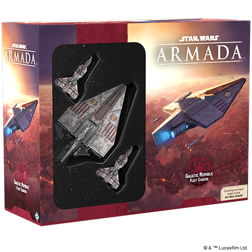 Galactic Republic Fleet Starter Pack: Star Wars Armada-Fantasy Flight Games-Athena Games Ltd