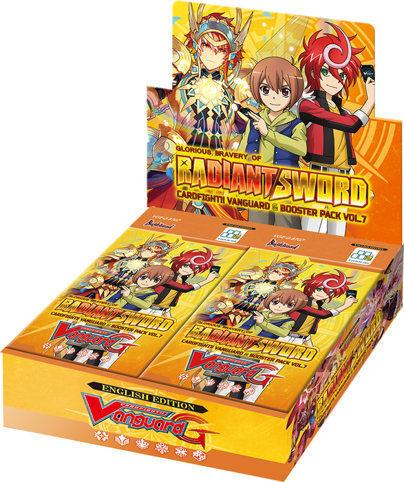 Cardfight Vanguard!! Glorious Bravery of Radiant Sword VGE-G-BT07 Booster Box