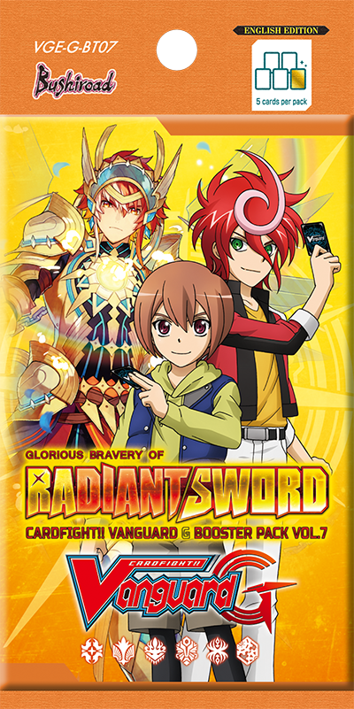 Cardfight Vanguard!! Glorious Bravery of Radiant Sword VGE-G-BT07 Booster Pack