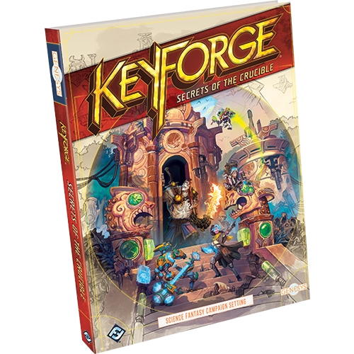 KeyForge: Secrets of the Crucible - Genesys RPG Sourcebook