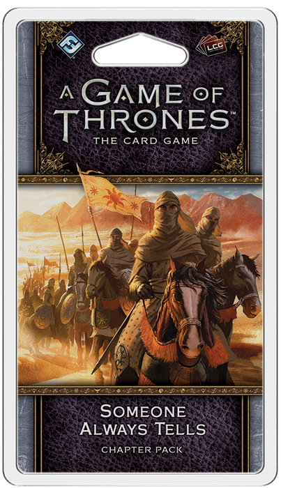 A Game Of Thrones Someone Always Tells Chapter Pack