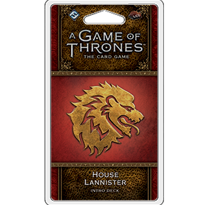 House Lannister Intro Deck: A Game of Thrones Living Card Game