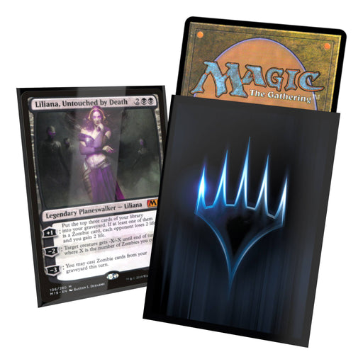Magic the Gathering Printed Sleeves Standard Size Planeswalker (100) Sleeve Example