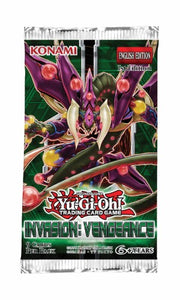 Invasion Vengeance Booster Pack - Yu-Gi-Oh TCG