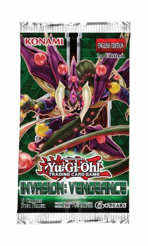 Invasion Vengeance Booster Pack - Yu-Gi-Oh TCG-Konami-Athena Games Ltd