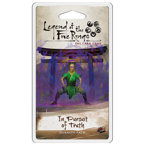 In Pursuit of Truth - Legend of the Five Rings Dynasty Pack-Fantasy Flight Games-Athena Games Ltd