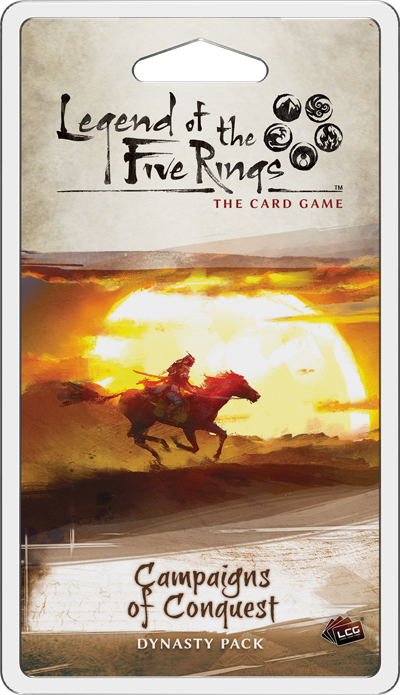 Campaigns of Conquest - Legend of the Five Rings Dynasty Pack-Fantasy Flight Games-Athena Games Ltd