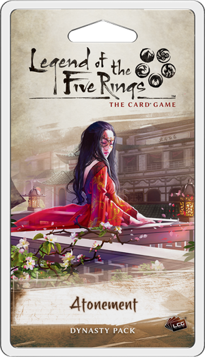 Atonement Dynasty Pack - Legend of The Five Rings LCG