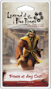 Peace at Any Cost Dynasty Pack - Legend of The Five Rings LCG