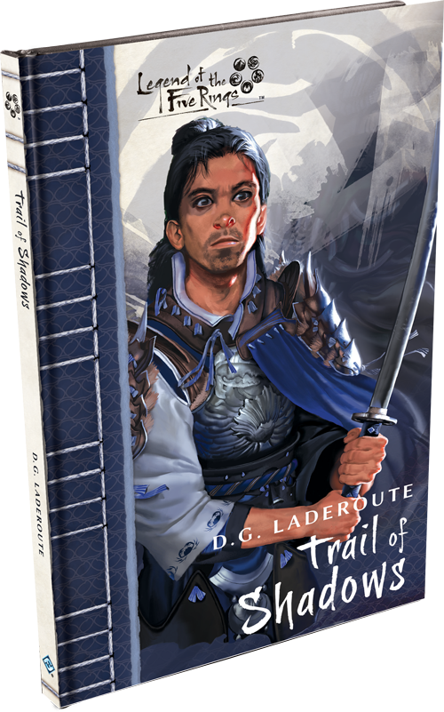 Trail of Shadows Novella: Legend of the Five Rings-Fantasy Flight Games-Athena Games Ltd