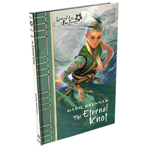 The Eternal Knot Novella: Legend of the Five Rings-Fantasy Flight Games-Athena Games Ltd