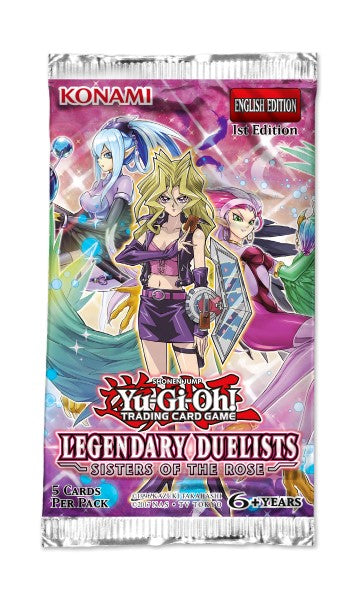 Yu-Gi-Oh Legenday Duelists Sisters of the Rose Booster Pack-Konami-Athena Games Ltd