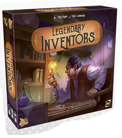 Legendary Inventors-Board Games-Athena Games Ltd