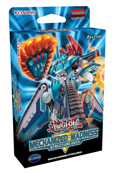 Mechanized Madness - Yu-Gi-Oh TCG Structure Deck