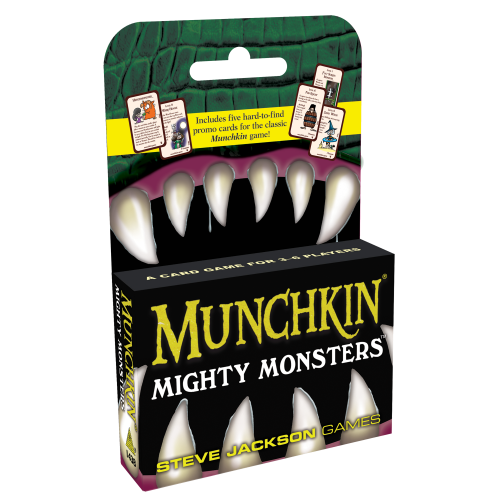 Munchkin: Mighty Monsters-Steve Jackson Games-Athena Games Ltd