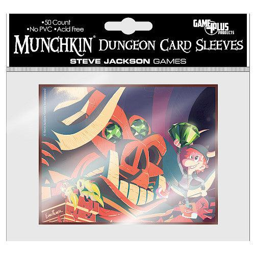 Munchkin Dungeon Card Sleeves-Steve Jackson Games-Athena Games Ltd