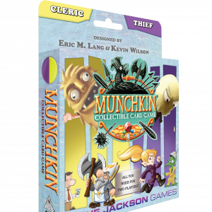 Cleric and Thief Starter Set Munchkin
