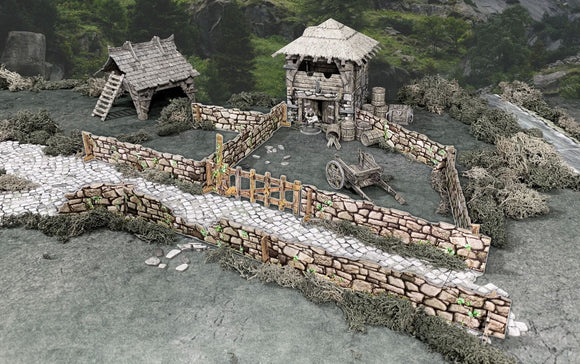 Battle Systems Stone Walls