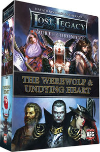 Lost Legacy: Fourth Chronicle - The Werewolf and the Undying Heart