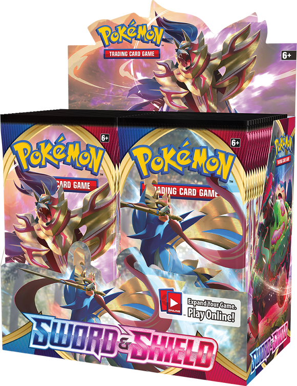 Pokemon TCG Sword & Shield Booster Box