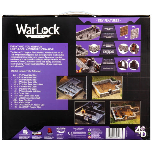WarLock Tiles: Dungeon Tiles I-Wizkids-Athena Games Ltd